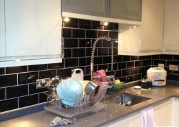 Undermount sink and soray tap