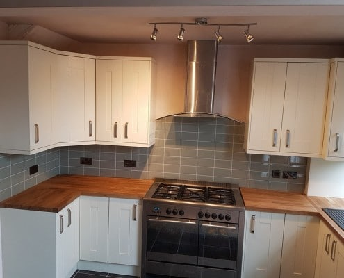 Range Cooker and extractor